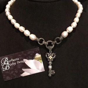 Barbara Bixby Pearl necklace